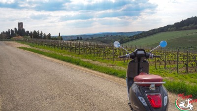 Vespa tour Florence and Chianti