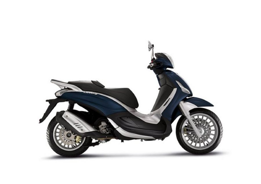 Scooter Beverly 300 rentals in Tuscany