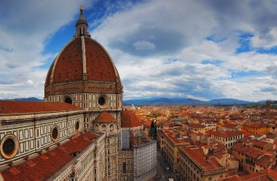 Itinerary to discover Florence by bike, Vespa or scooter